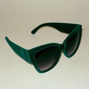 ISO Green Velvet Sunglasses!!
